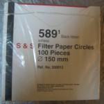 کاغذ صافی S & S ساخت آلمان 589/1 باند مشکی