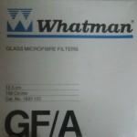 کاغذ  فیلتر(صافی) واتمن فایبر گلاس GF/A سایز 12.5 سانتیمتر