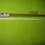 دماسنج (ترمومتر) جیوه ای  4- تا 360 درجه astm ساخت آلمان