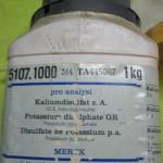 پتاسیم دی سولفات 1 کیلوگرمی مرک آلمان کد 105107