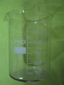 بشر 3 لیتری Pyrex